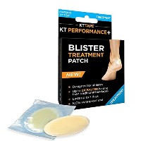High Quality KT Performance+ Blister Treatment Patch, Designed for Athletes, 100% Waterproof,...