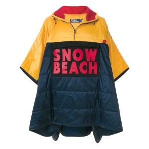 Polo Ralph Lauren Snow Beach ポンチョ - ブルー
