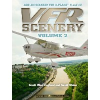 X-Plane VFR Scenery - Volume 2: South-West England and South Wales