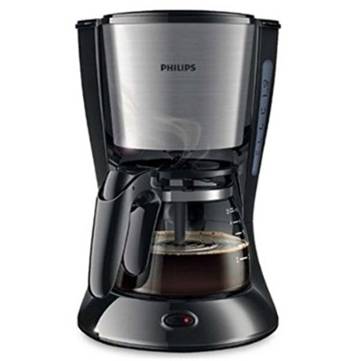 Philips Daily Collection Coffee Maker HD7434/20 With glass jug Compact design (0.6L) Pistil Black...
