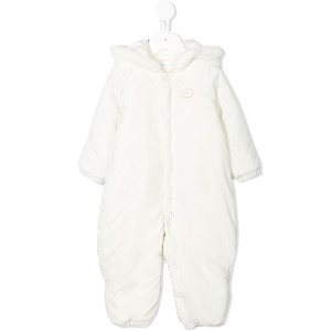 Miki House padded snowsuit - ホワイト