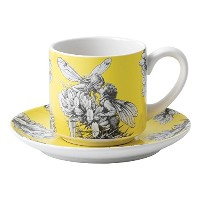 Flower Fairies a28459イエローFairyハリエニシダCup & Saucer