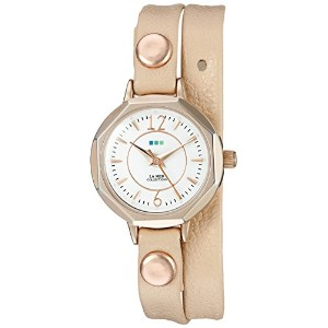 La Mer Collections Women 's lmdelmardw1507 Analog Display Japanese Quartz Rose Gold Watch