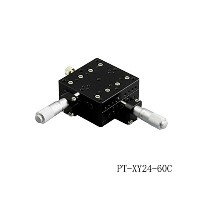 PT-XY24-60C/R/L XY Axis Manual Linear Stage, Manual Station, Manual Multi-axis Platform, Optical...