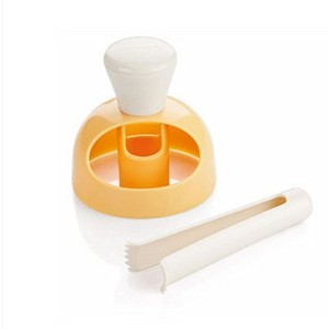 xiaolanwelc @ 1pcs Large AmericanドーナツMould withクリップHollowパン型プラスチックBakingツールSuitable for Home Made...