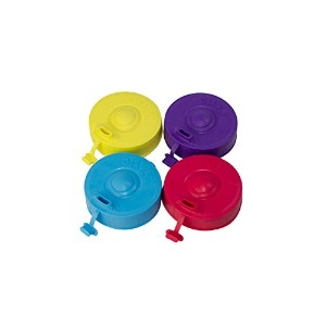Alternative Sippy Cup Lid by cuvy | Stretchable蓋Fits Mostカップ、耐漏れ性、BPAフリー安全材料で、Perfect for Toddlers...