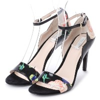 【SALE 68%OFF】コール ハーン COLE HAAN GRACE GRND SNDL 85MM (FLORAL BLK CMBO) レディース