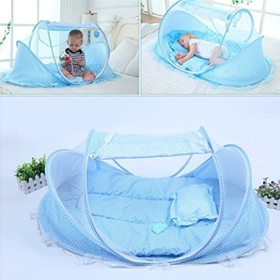 KidsTime Baby Travel Bed,Baby Bed Portable Folding Baby Crib Mosquito Net Portable Baby Cots...