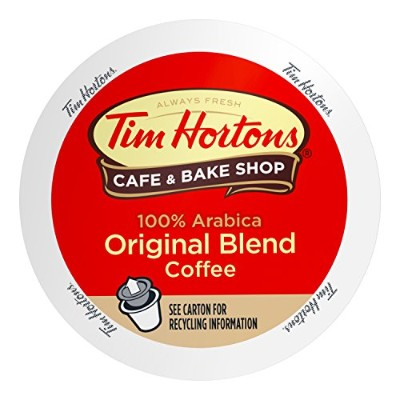 Tim Horton's Single Serve Coffee Cups, Original Blend, 24 Count by Tim Hortons