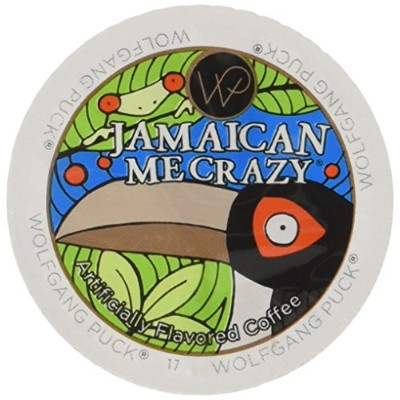 Wolfgang Puck Jamaican Me Crazy Flavored Coffee Single Serve Cups for Keurig, 24 Count by Wolfgang...