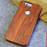 Huawei Honor9 Case, Handmade Rosewood Wooden Sculture Texture Cover, TAITOU Ultra Slim Thin...