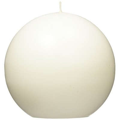 Zest Candle CBC-401 4 in. White Citronella Ball Candles -2pc-Box