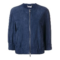 Desa Collection bomber jacket - ブルー