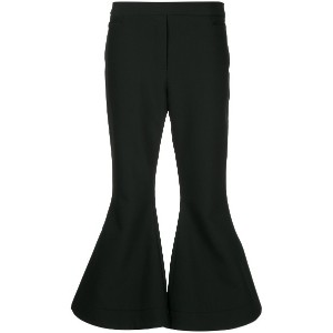 Ellery Federico cropped flared trousers - ブラック