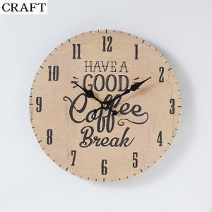 モチーフクロック 「SHOP series」 33cm / 掛時計 COFFEE SHOP CRAFT