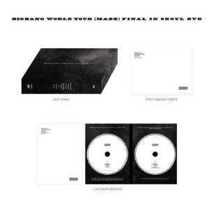 [書留発送] BIGBANG WORLD TOUR [MADE] FINAL IN SEOUL DVD/ビッグバン
