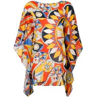Tory Burch printed tunic - マルチカラー