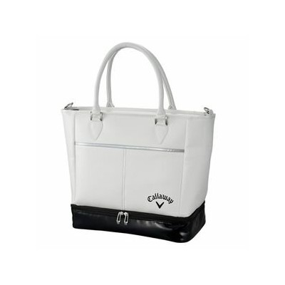 CW18 SOLID TOTE WH キャロウェイ トートバッグ(ホワイト) Callaway 18 SOLID TOTE BAG 5918185 [CW18SOLIDTOTEWH]【返品種別A】
