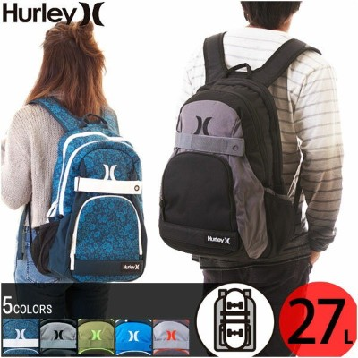 【20%OFF!SALE】Hurley ハーレー リュック バックパック HONOR ROLL BACKPACK 27L 男女兼用