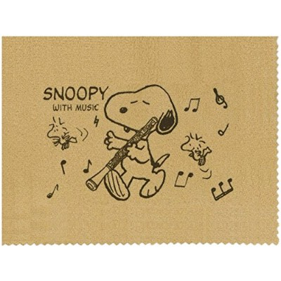 SNOOPY with Music スヌーピー SCLOTH-OB 楽器用クロス