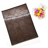 Silicone Baking Mat & Bakingトレイ、プロフェッショナル20容量Non Stickマカロンケーキ金型トレイBakeware – Suitable for Pastry ...
