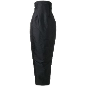 Rick Owens Pillar skirt - ブラック