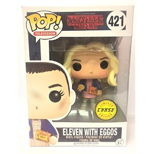 Funko Pop! TV: Stranger Things - Eleven with Eggos Vinyl Figure with Hair