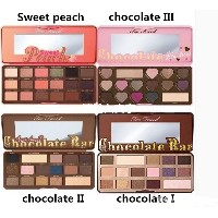 Sweet peach Eye Shadow Too Faced Chocolate Bar Semi-sweet Bon Bons 16 Colors Professional Eyeshadow