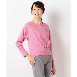 【SALE(伊勢丹)】 ICB L  大きいサイズ Synthetic Georgette カットソー(KKCMYM0214) ピンク 【三越・伊勢丹/公式】 レディースウエア~~Tシャツ~~その他...