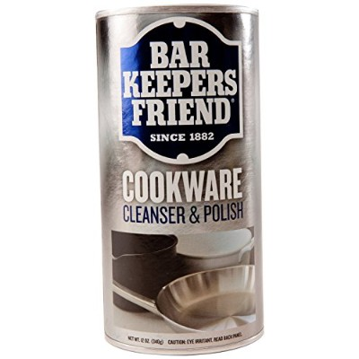 (3 Pack) Bar Keepers Friend Cookware and Sink Cleaner - 12 Oz. Each by Bar Keeper's Friend