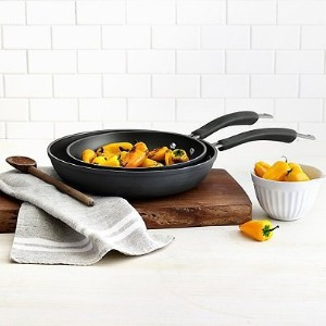 Epicurious Hard Anodized Nonstick 2ピースFry Pan Set