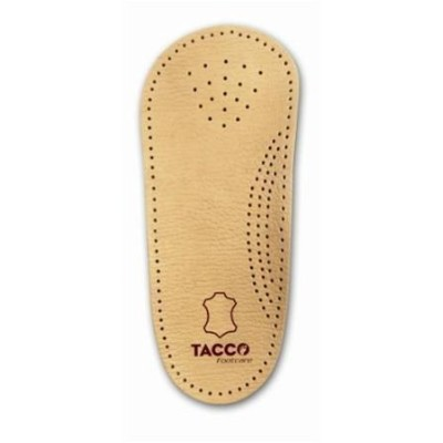 Tacco 3/4 Length Leather Orthotic Arch Support Womens 10 (Mens and Womens, all sizes) by Tacco