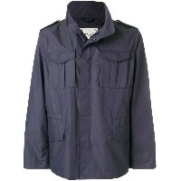 Paltò military jacket - ブルー