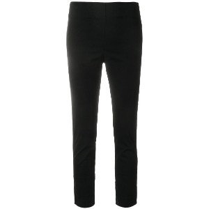 Hache cropped skinny trousers - ブラック