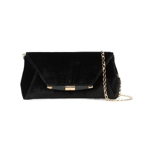 Tyler Ellis envelope style clutch bag - ブラック