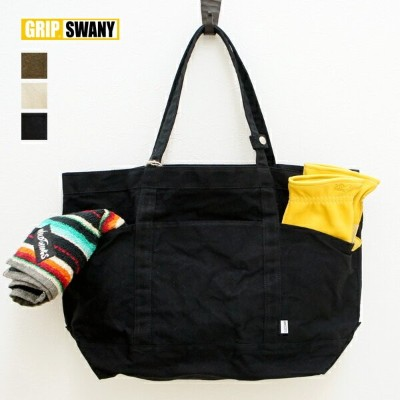 GRIP SWANY グリップスワニー CAMP GEAR TOTE (GS-BG04) トートバッグ