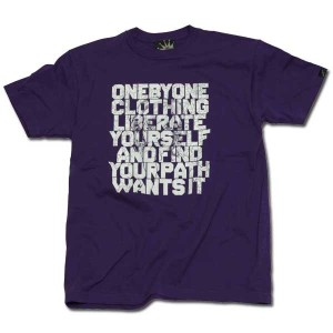 WANT'S IT Tシャツ パープル one by one clothing