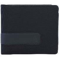 メンズ NIXON SHOWDOWN BI-FOLD ZIP WALLET 財布  ブラック