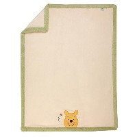 Disney Baby - Peeking Pooh Baby Blanket with Applique by Disney