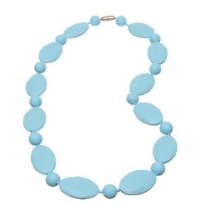 Jelly Strands Ellis Baby Teething Necklace Turquoise by Jelly Strands [並行輸入品]