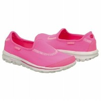 Skechers Go Recovery Womens, Hot Pink/White, 35.5 EUR, B