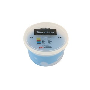 CanDo? Antimicrobial Theraputty? Exercise Material - 1 lb - Blue - Firm