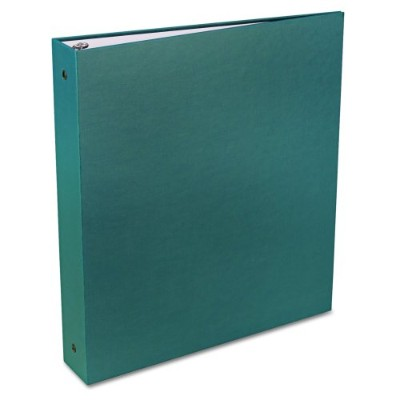 """Recyclable Ring Binder With EZ-Turn Rings, 1-1/2"""" Capacity, Green (並行輸入品)"""