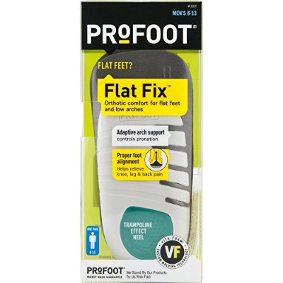 PROFOOT Flat Fix Orthotic, Men's 8-13, 1 Pair by Profoot