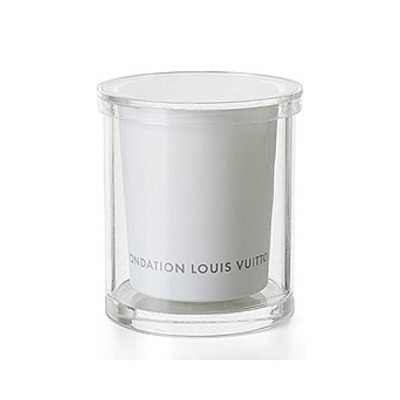 Fondation Louis Vuitton アロマキャンドル Candle with case White Freesia-scented [並行輸入品]