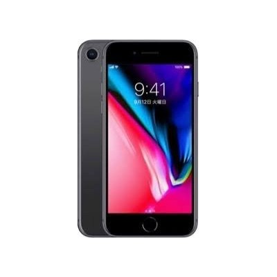【国内版SIMフリー】Apple iPhone8 64GB Space Gray 64GB MQ782J/A