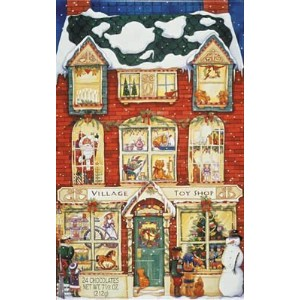 Madelaine Chocolate Company Chocolate Advent Calendar - 24 Chocolates,8oz pack by Madelaine...