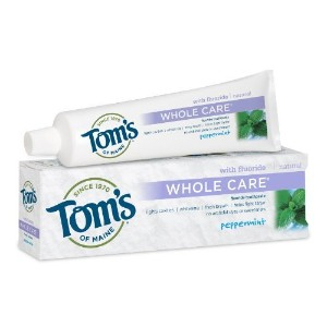 海外直送品Tom's Of Maine Whole Care Toothpaste Peppermint, Peppermint 4.7 oz (Pack of 6)