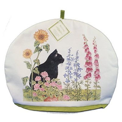 (Black Cat) - Alice's Cottage Insulated Tea Cosy (Black Cat)