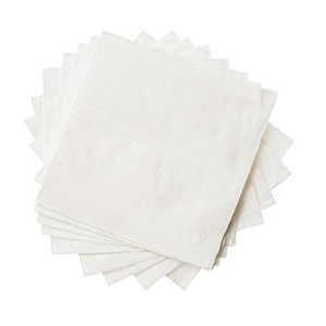 Beverageペーパーナプキンパックby edaydeal Folded Paper Towels for Cocktailsアペタイザー、ワイン、水、吸収性、便利に、パーティ、会議...
